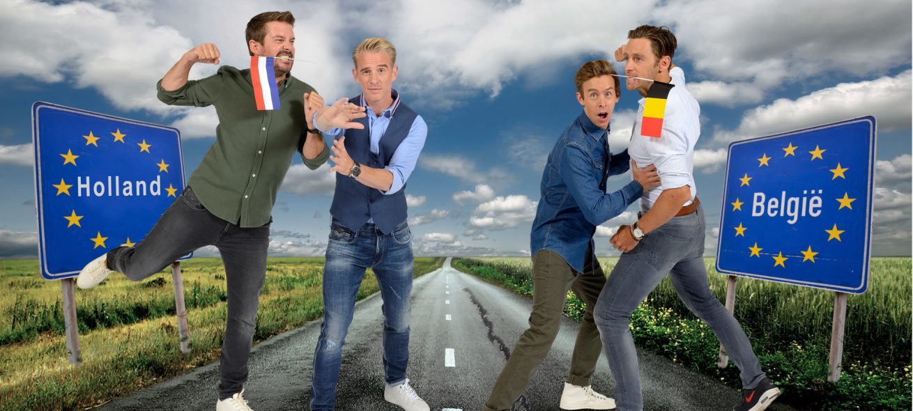 De strijd tussen de Lage Landen barst los in 'Holland-België'